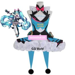 2019 Vocaloid Hatsune Miku Magical Mirai Circus Dress Uniform Outfit Anime Customize Cosplay Costumes