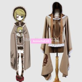 Vocaloid Hatsune Miku Senbonzakura Kagamine Rin Tops Dress Uniform Outfit Anime Cosplay Costumes