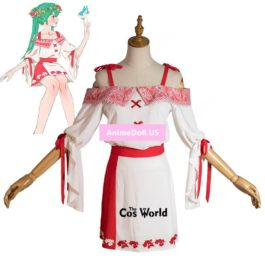 Vocaloid Hatsune Miku Cranberry Forest Dress Han Chinese Costume Outfit Anime Cosplay Costumes