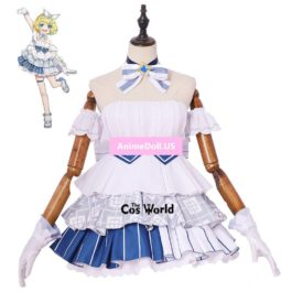 2019 Snow Miku Vocaloid Kagamine Rin Dress Uniform Outfit Anime Cosplay Costumes