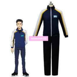 YURI!!! on ICE Otabek Altin Coat Jacket Pants Sportswear Jersey Uniform Outfit Anime Cosplay Costumes