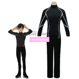 YURI!!! on ICE Phichit CHULANONT Coat Jacket Pants Sportswear Jersey Uniform Outfit Anime Cosplay Costumes
