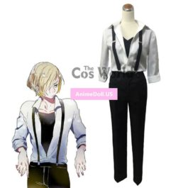YURI!!! on ICE Yuri Plisetsky T-shirt Blouse Tops Pants Uniform Suit Outfit Anime Cosplay Costumes