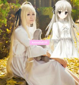 Yosuga no Sora Kasugano Sora Sexy Uniform Dress Outfit Anime Cosplay Costumes