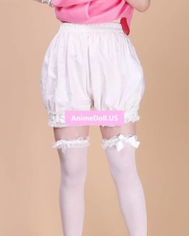 Lolita Cotton Safety Bloomers Pumpkin Pants Shorts Underwear Leggings With Pocket For Maid Dress Cosplay Costumes