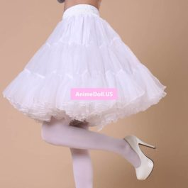 Lolita A-Line Crinoline Pannier Bubble Skirt Bustle Underskirt Outfit Cosplay Costumes For Wedding Dresses Petticoat