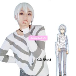 A Certain Magical Index Accelerator Long Sleeve T-shirt Tops Pants Trousers Outfit Anime Cosplay Costumes