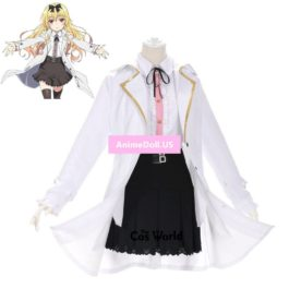 Arifureta: From Commonplace to World's Strongest Yue Dress Uniform Outfit Anime Cosplay Costumes