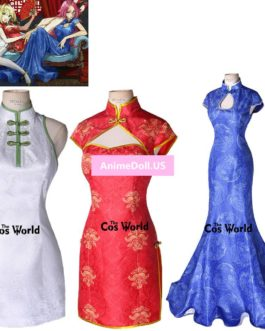 FGO Fate Grand Order Fate EXTELLA LINK Scathach Nero Francis Drake Cheongsam Dress Uniform Outfit Anime Cosplay Costumes