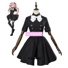Fate Grand Order Apocrypha Rider Astolfo Asutorufo Uniform Dress Coat Outfit Anime Cosplay Costumes
