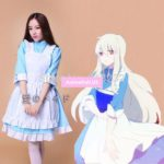 Kagerou Project Kozakura Mari Maid Dresses Meidofuku Apron Dress Uniform Outfit Anime Cosplay Costumes