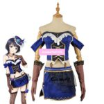 Love Live All Stars PERFECT Dream Project Asaka Karin Dress Uniform Outfit Anime Cosplay Costumes