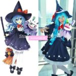 DATE A LIVE Yoshino Halloween Evil Female Outfit Uniform Dress Cosplay Costumes