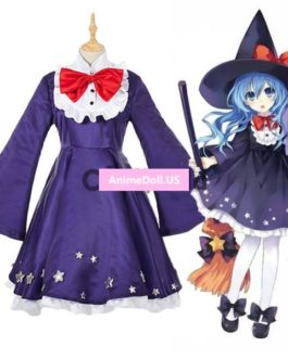 DATE A LIVE Yoshino Meidofuku Fancy Dress Uniform Maid Outfit Anime Cosplay Costumes
