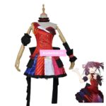 DATE A LIVE Idol Kurumi Tokisaki Tops Dress Uniform Outfit Anime Cosplay Costumes