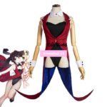 DATE A LIVE Nightmare Kurumi Tokisaki Sexy Bunny Girl Maid Dress Uniform Outfit Anime Cosplay Costumes