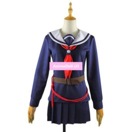 Machiavellism Onigawara Rin Sailor Suit School Uniform Tops Skirt Outfit Anime Cosplay Costumes