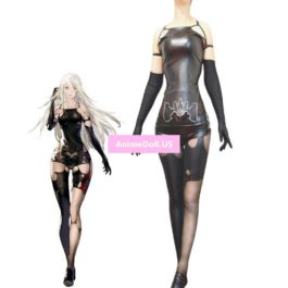 NieR Automata YoRHa Type A No.2 A2 Tops Tights Leggings Pantihose Uniform Outfit Games Cosplay Costumes