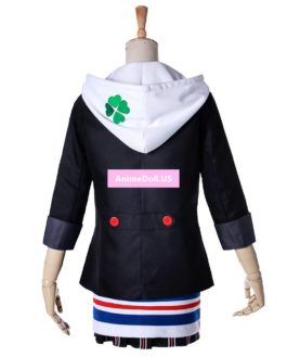 Persona 5 Anne Takamaki Panther Hoodie Coat School Uniform Dress Outfit Games Cosplay Costumes