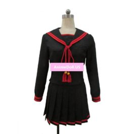 Re:CREATORS Chikujyouin Magane Sailor Suit School Uniform Long Sleeve Tops Skirt Outfit Anime Cosplay Costumes