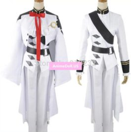 Seraph of the end Ferid Bathory Uniform Outfit Anime Cosplay Costumes