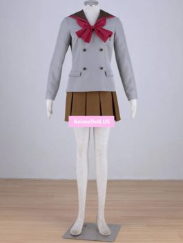 Sailor Moon Crystal Hino Rei School Uniform Sailor Suit Tops Dress Outfit Anime Cosplay Costumes