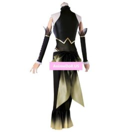 2017 Vocaloid Hatsune Miku Megurine Luka Fight Racing Suit Tube Tops Dress Uniform Outfit Anime Cosplay Costumes