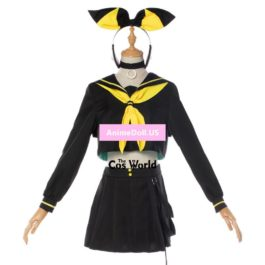 2018 Vocaloid MAGICAL MIRAI 10th Anniversary Live Vocal Concert Kagamine Len Rin Sailor Suit Tops Dress Uniform Cosplay Costumes