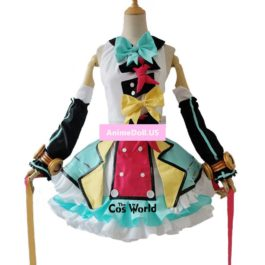 2018 Vocaloid Hatsune Miku Magical Mirai Dress Uniform Outfit Anime Customize Cosplay Costumes