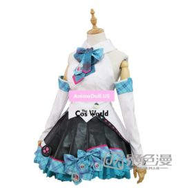 2017 Vocaloid Hatsune Miku MAGICAL MIRAI Dress Uniform Outfit Anime Customize Cosplay Costumes
