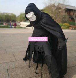Fate/stay night Assassin Hassan Sabbah Cursed Arm Halloween Hallowmas Cloak Tights Pants Uniform Outfit Anime Cosplay Costumes