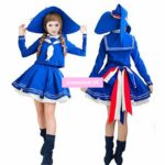 Wadanohara And The Great Blue Sea Sailor Suit School Uniform Tops Dress Outfit Games Cosplay Costume