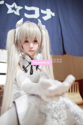 Yosuga no Sora Kasugano Sora Cheongsam Uniform Dress Outfit Cosplay Costumes
