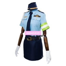 Fate EXTELLA Link Tamamo no Mae Policeman Uniform Dress Anime Outfit Cosplay Costumes