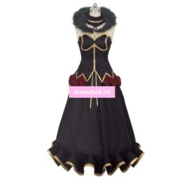 Fate Apocrypha Assassin Semiramis Sammu-ramat Tube Tops Dress Uniform Outfit Anime Cosplay Costumes