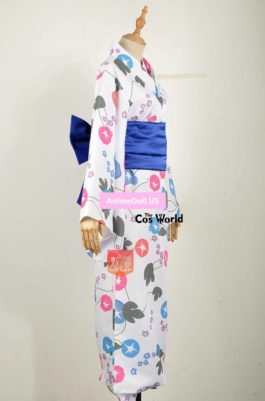 Fate Apocrypha Saber Arturia Altria Kimono Yukata Dress Outfit Anime Cosplay Costumes