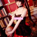 DATE A LIVE Tokisaki Kurumi Cat Sexy Tube Tops Dress Uniform Outfit Anime Cosplay Costumes