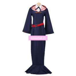 Little Witch Academia Sucy Mambavaran Dress Uniform Outfit Anime Halloween Hallowmas Cosplay Costumes