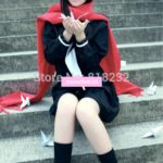 Kagerou Project Tateyama Ayano Black Sailor Suit Uniform Dress Outfit Anime Cosplay Costumes
