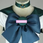 Sailor Moon Sailor Neptune Pretty Bowknot Dress Uniform Cosplay Costumes Halloween Party Dresses Any Size Customized