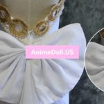 Sailor Moon Tsukino Usagi Angel Tube Tops Full Formal Dresses Uniform Outfit Anime Cosplay Costumes