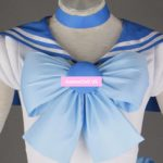 Sailor Moon Mizuno Ami Bowknot Dress Uniform Outfit Halloween Cosplay Costumes