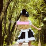 Touhou Project Kirisame Marisa Maid Apron Dress Uniform Outfit Anime Cosplay Costumes