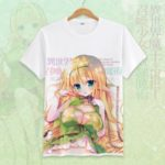 How Not to Summon a Demon Lord Cosplay Tshirt Tees Top Short Sleeve T Shirt For Men Women v1