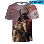 Hot Game 3D Troye Sekiro Shadow Die Twice T-shirts Men/Women 2019 Summer T-shirts men/women leisure Short Sleeves 3D T shirt v10