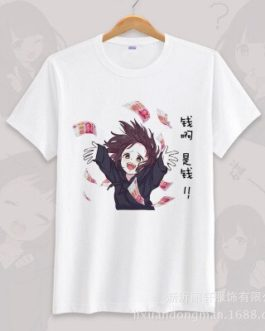 Anime menhera chan Cosplay T-shirt Summer Unisex O Neck Short Sleeve COS Short-sleeve Men women Tees tops v10