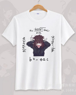 Anime menhera chan Cosplay T-shirt Summer Unisex O Neck Short Sleeve COS Short-sleeve Men women Tees tops v12