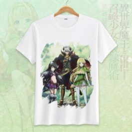 How Not to Summon a Demon Lord Cosplay Tshirt Tees Top Short Sleeve T Shirt For Men Women v13