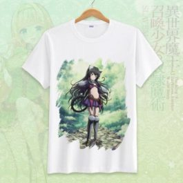How Not to Summon a Demon Lord Cosplay Tshirt Tees Top Short Sleeve T Shirt For Men Women v15
