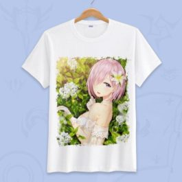 Anime Fate Go Game Fate grand order T Shirt Unisex Short Sleeve fgo T-shirt Fate Apocrypha saber Cosplay Tshirt Tops v16